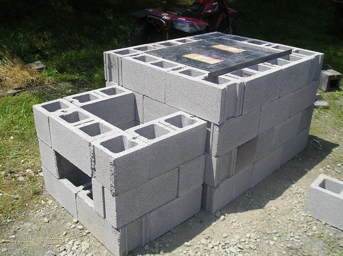 How To Build A Cinder Block Grill Patriot Caller